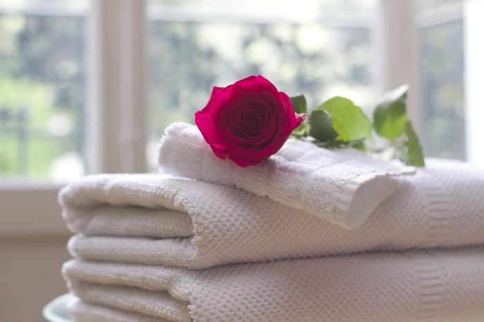 linge propre hôtellerie blanchisserie